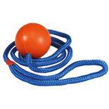 Rubberbal met lang touw