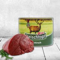 Vleesmenu mini met hertenvlees