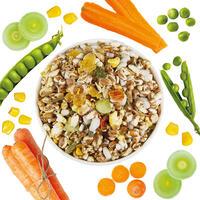 Veggi-mix met ontbijtgranen +groente