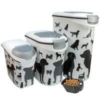 Curver container voor droogvoer met hondensilhouet