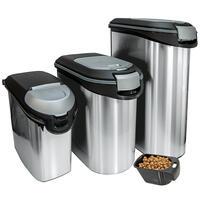 Curver container voor droogvoer, metallic
