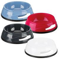 Kunststof voerbak met rubberen ring