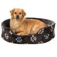 Hondenbed 'kleurrijke bandjes'