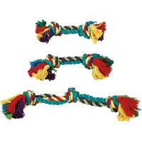Katoenen touw regenboog