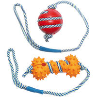 Bal of bot met lichtgevend touw