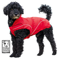 DogBite winterjas, kleur: rood