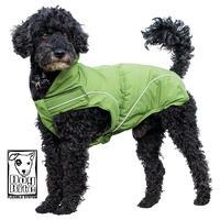 DogBite winterjas, kleur: groen