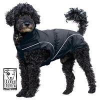 DogBite winterjas, kleur: zwart