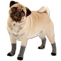 Hondensokjes, kleur: zwart/grijs
