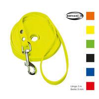 Schecker Biothane® revierlijn met handlus, 5 m / 9 mm