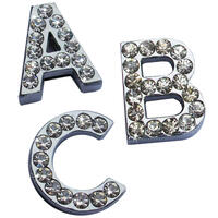 MyName letters, type 'Kristal', voor halsbanden 25-45 cm lengte