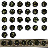Sierknoop 'BUTTONS' - letter