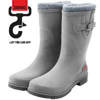DOGGO Lotte Brushed winterlaarzen voor dames - kleur: grijs